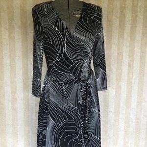 BCBG Mock Wrap Dress